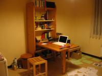 Arbeitsplatz in meinem Studio