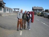 Clayton, Dana und ich am Col de la Colombière