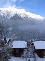 Der erste Schnee in Chamonix