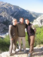 Team Rigolo in den Calanques