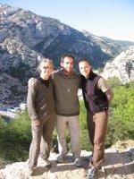 Team Rigolo in den Calanques