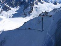 O-Grat der Aiguille du Midi