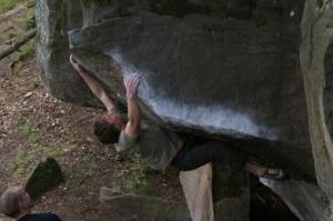 Jurrasic Parc - Der Autor im verrückten Dachboulder Archaeopteryx
