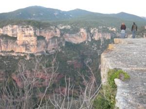 Blick auf die Felsen Siuranas