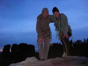 Mit Olli am Gipfel