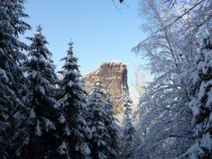 Winterlicher Falkenstein