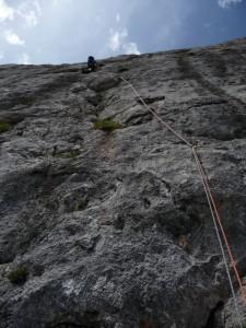 Durchweg gute Kletterei